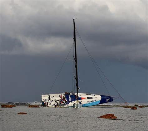 volvo ocean race crash report calls  charting standards