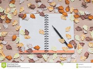 Spiral Notebook On Wood Background Royalty-Free Stock