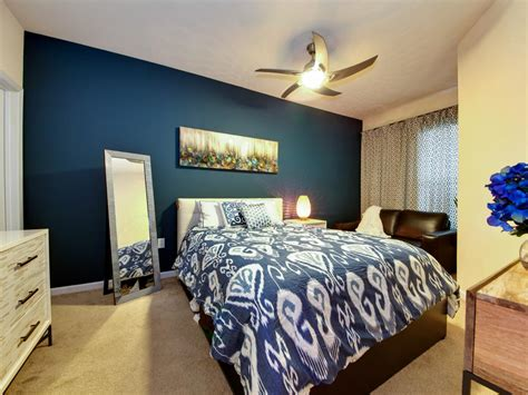 Ideas For Blue Contemporary Bedrooms