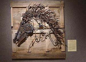 The Art Of Up-Cycling: Metal Wall Art- Inventive Recycle