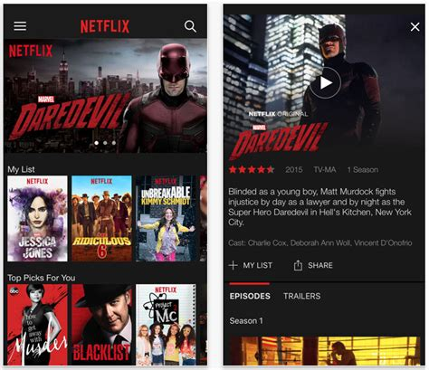 netflix app for iphone netflix app updated with support for 3d touch pro