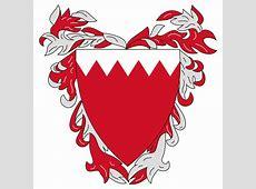 Flag Of Bahrain The Symbol Of Strength