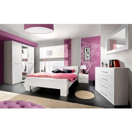 ensemble chambre adulte pas cher chambre moderne blanche pas cher cbc meubles