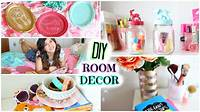 homemade room decorations DIY Room Decor! Cute & Affordable!! - YouTube