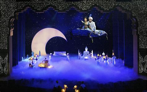 'aladdin' Runs Out Of Wishes As Curtain Falls At Disney California Adventure  La Times