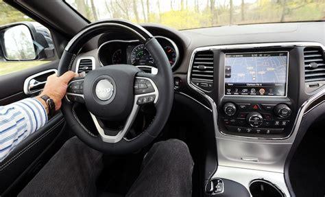 jeep grand cherokee interior 2015 2015 jeep grand cherokee overland 4x4 ecodiesel review