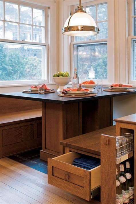 Kitchen & Dining. Banquette Seating, From Bistro Into Your