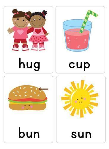 cvc word flash cards cvc words phonics flashcards