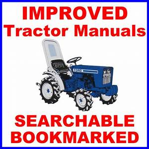 Ford 1700  U0026 1710 Tractor Technical Repair Shop Service