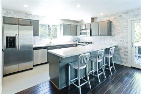modern grey  white kitchen modern kitchen los