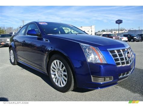 Cadillac Cts Blue by 2013 Opulent Blue Metallic Cadillac Cts 4 3 0 Awd Sedan