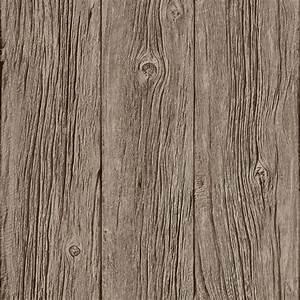 Muriva Bluff Wood Panel Faux Effect Wallpaper Brown J02417