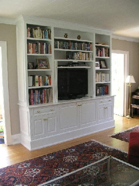 Tv In Bookcase by Built In Bookcases With Tv Search Decorating