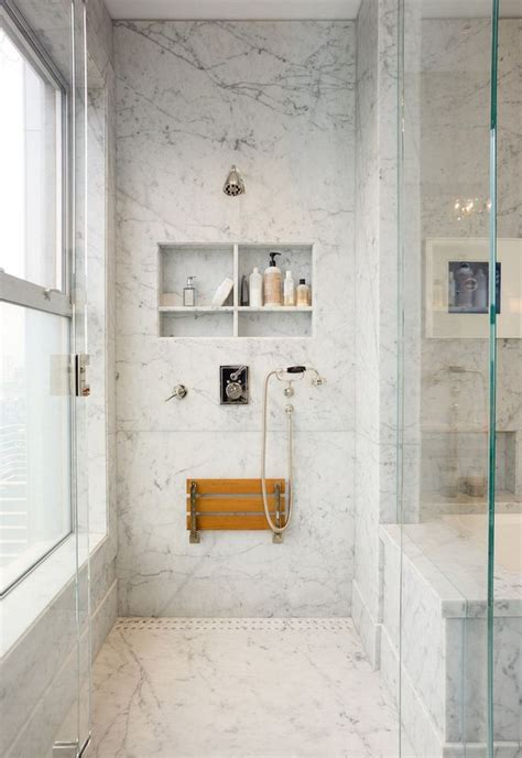 wall mount teak folding shower seat  signature