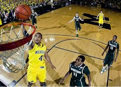 Michigan Basketball State Wallpaperaccess Rivalry Finally Wallpapers