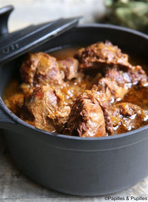 cuisiner la joue de porc marmiton joues de porc confites au cidre et au miel