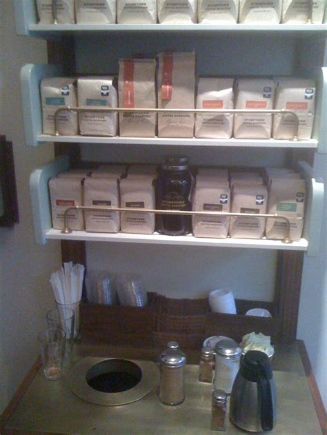 coffee shop condiment station   Google Search   Coffee