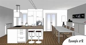 Plan De Cuisine 3d : dessiner cuisine en 3d gratuit 8 plan 3d la baule saint ~ Nature-et-papiers.com Idées de Décoration