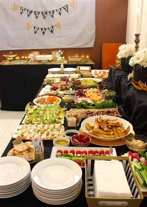 They keep the animals busy munching before it's quite time for dinner, and give everyone a chance to quit the small talk for a minute and focus on eating. Event Catering - Buffet food set-up - Heavy Appetizers for Tray passed or stationary | Catering ...