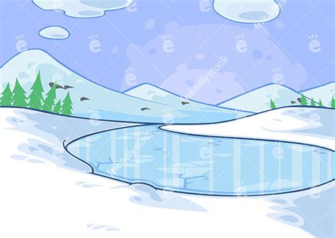 frozen lake drawing  getdrawingscom   personal