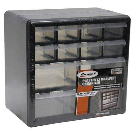 walmart plastic drawers homak 12 drawer parts organizer walmart