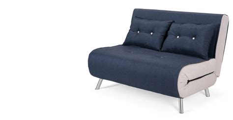 haru small sofa bed quartz blue 2 seater sofas buy 2