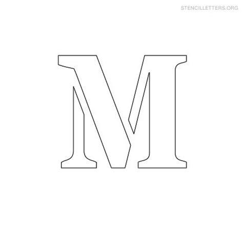 free letter stencils printable m stencil small stencil letter m uma printable 22179