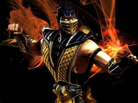 Car Wallpapers Hd 4k Scorpion Mortal Kombat by Mortal Kombat 9 Scorpion Wallpaper Wallpapersafari