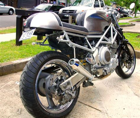 Modification Yamaha by Yamaha Trx850 Modification Trx850 Cafe Racer Yamaha