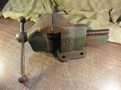 vintage reed mfg  bench vise    ebay