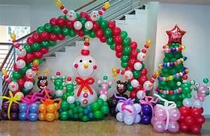 Christmas Balloon Art DIY Holiday Party Decorations