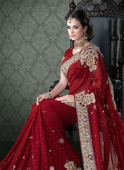 latest indian wedding sarees collection   fashions