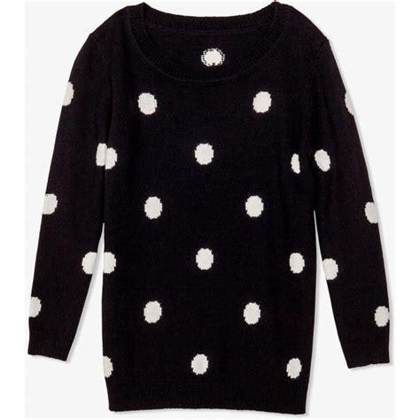 polka dot sweater forever 21 polka dot sweater polyvore