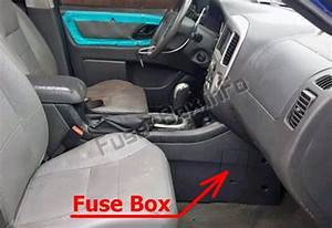 Fuse Box Diagram  U0026gt  Ford Escape  2005