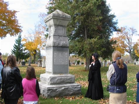 cemetery tours smiths falls heritage house museum lanark