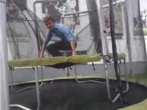 double trampoline  decathlon youtube
