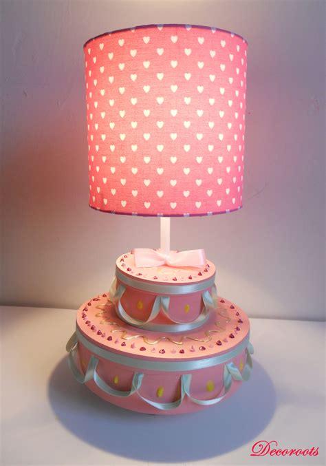 luminaire chambre fille le de chevet fille gâteau anniversaire enfant