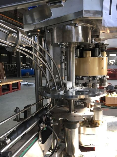 automatically beer  filling machine rotary tin  packaging machine