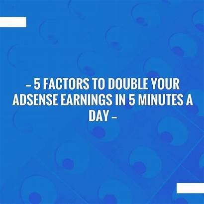 Factors Adsense Earnings Give Double