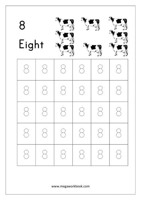 tracing numbers  worksheets worksheets
