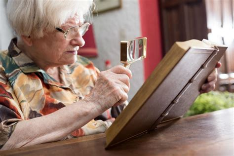 how to make easier and safer for seniors with low vision agingcare