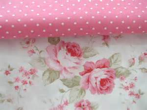 Pink Cabbage Roses Fabric