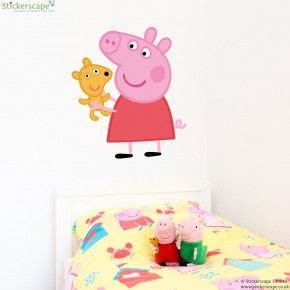 Peppa Pig Bedroom Makeover Kit by 1000 Ideas About Peppa Pig Stickers On Peppa
