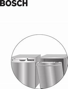 Bosch Appliances Dishwasher Bosch Diswacher User Guide