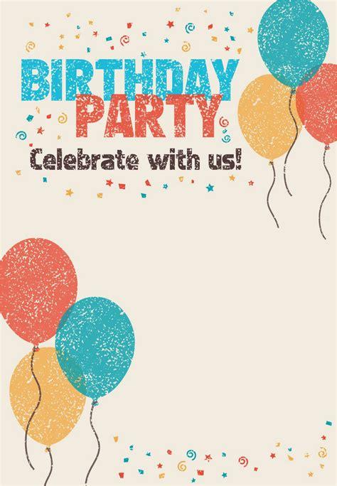 Free Ecard Birthday Invitations BirthdayBuzz