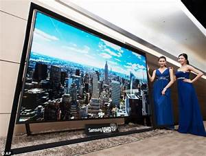 World's biggest television goes on sale as Samsung ...