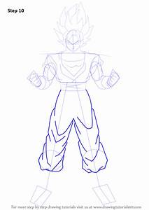 Learn How To Draw Goku Super Saiyan From Dragon Ball Z