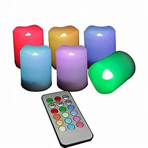 Candle Choice Set Of 6 Indoor And Outdoor Remote