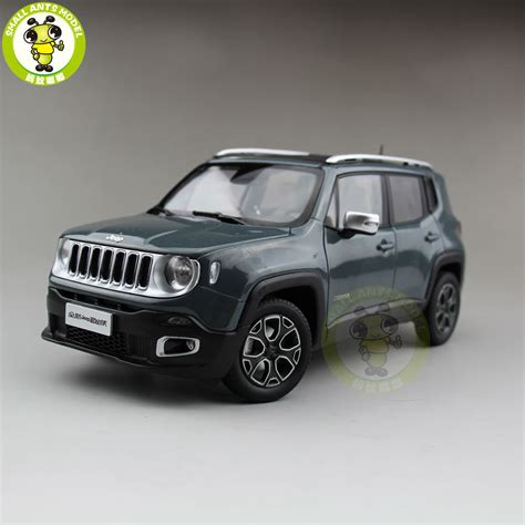 jeep cherokee toy 1 18 jeep renegade cherokee diecast car suv model