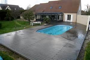 Terrasse Amovible Pour Piscine by Terrasses En Bois Pour Piscines M Le Bois